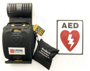 Picture of a LifePack AED